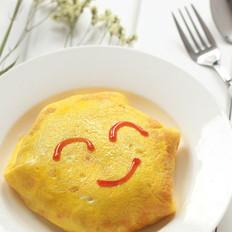 腊肠蛋包饭