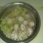 黄瓜肉丸汤的做法
