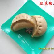 韭菜槐花包