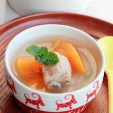 木瓜排骨汤的做法