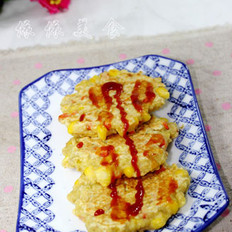 燕麥雜錦小煎餅的做法