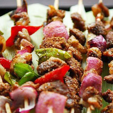 新疆烤羊肉串