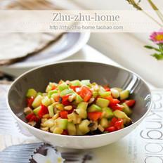 松仁香菇西葫芦的做法