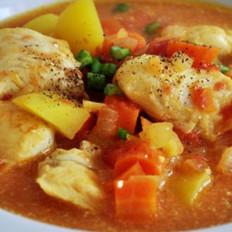 鹰嘴豆鱼汤