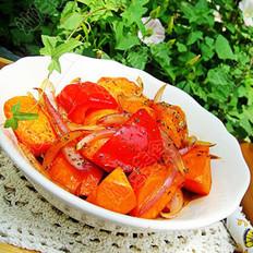 三杯胡萝卜的做法