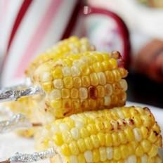 奶香烤玉米棒的做法