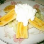 香蕉哈密瓜沙拉