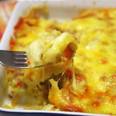 芝士焗土豆泥的做法