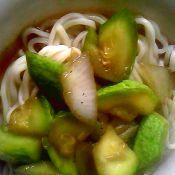 西葫芦菜拌面
