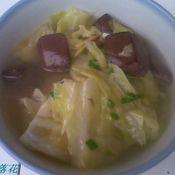 鸡血白菜汤