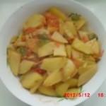 土豆片炒西红柿的做法
