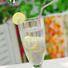 柠檬兰香子冻饮的做法
