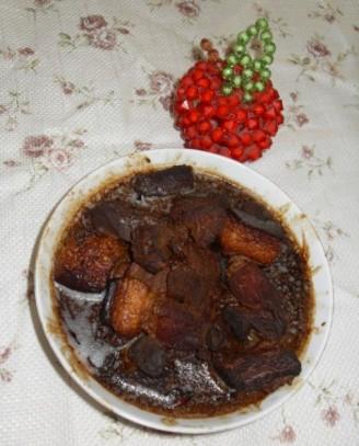甜面酱烧肉的做法