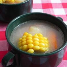 玉米胡萝卜鲫鱼汤的做法
