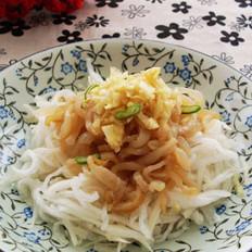 蒜泥海蜇萝卜丝的做法
