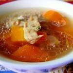 红萝卜蛏干排骨汤