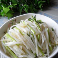 嗆拌香菜土豆絲的做法