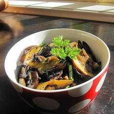 紫苏蒜头豆豉炒茄子