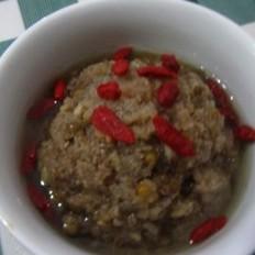 甜菊叶绿豆冰沙的做法