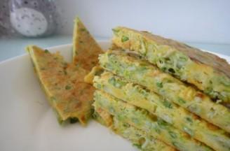 槐花鸡蛋玉米饼的做法