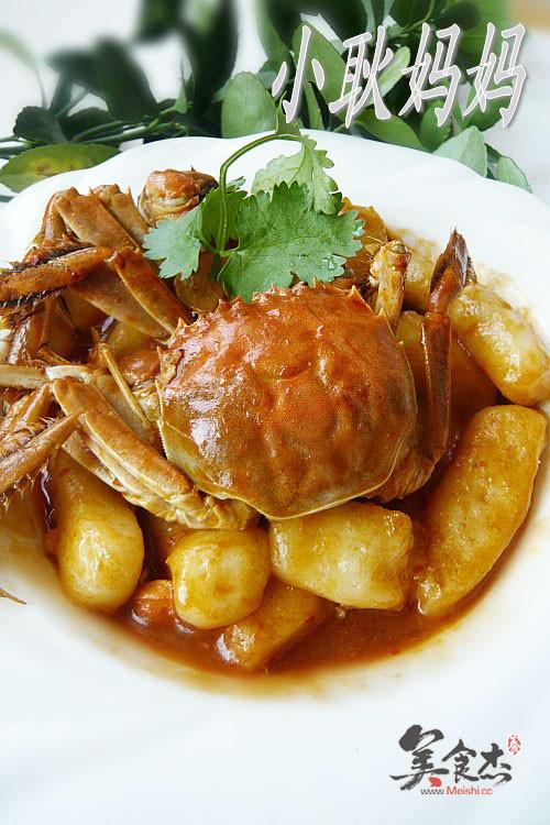蟹壳素_毛蟹炒年糕,毛蟹炒年糕的家常做法 - 美食杰菜谱做法大全