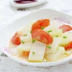 番茄炒冬瓜的做法
