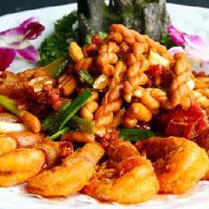 香酥麻花虾的做法