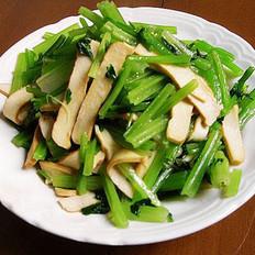 芹菜拌豆腐干