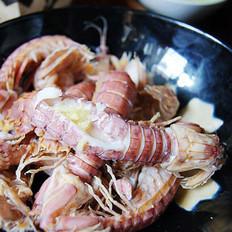 姜汁虾爬子的做法