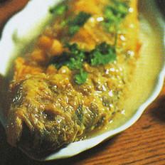 煎蒸黃花魚的做法