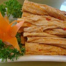香卤腐竹的做法