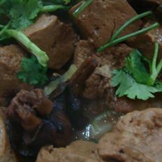 铁锅豆腐的做法
