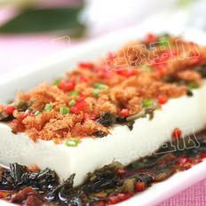 雪菜拌豆腐