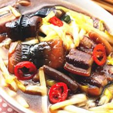 韭黄烩黄鳝的做法