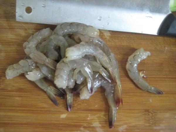 虾球丝瓜的做法