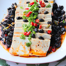 豆豉辣豆腐的做法