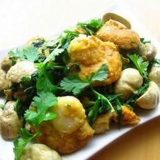 姜葱扇贝蘑菇
