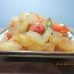 西红柿炒冬瓜的做法