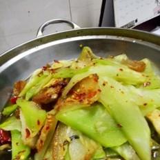 干锅莴笋腊肉