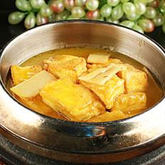 冬菇笋炖老豆腐
