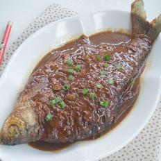酱烧鳊鱼的做法