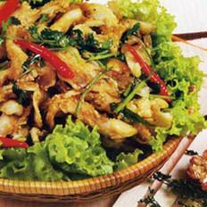 香辣平蘑的做法