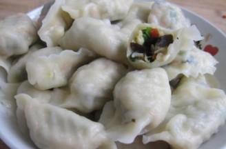 五色馅饺子的做法
