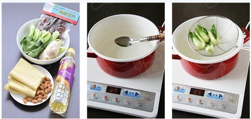 鸡汤煮干丝的做法