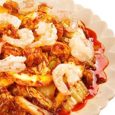 虾仁辣白菜