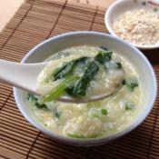 菠菜燕麦粥