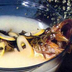 雪菜大汤黄鱼的做法