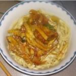 茄子土豆拌面