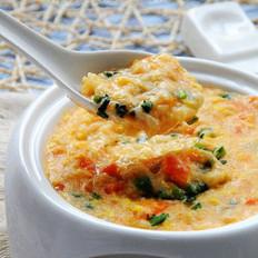 金针番茄疙瘩汤的做法