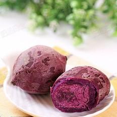 干蒸紫薯的做法